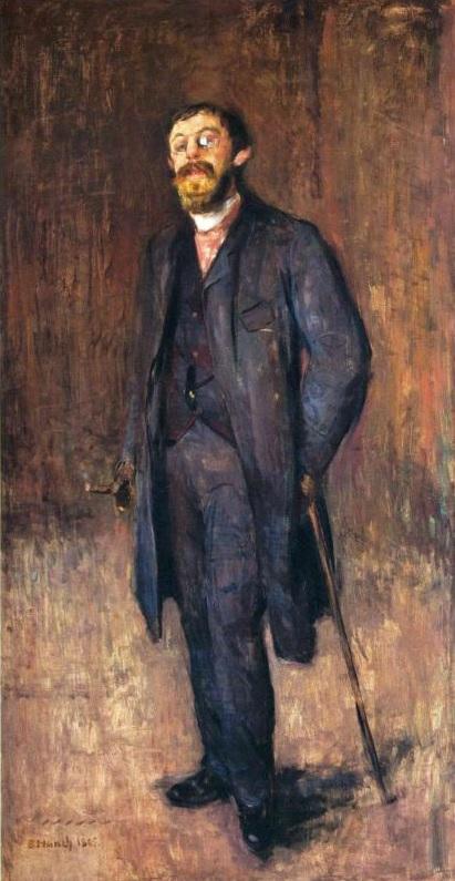 Retrato del pintor Jense Hjell