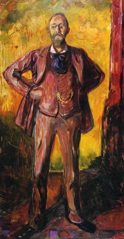Retrato del Profesor Daniel Jacobson