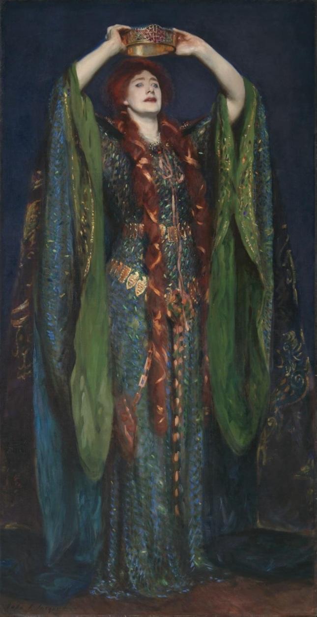 Ellen Terry as Lady Macbeth 1889 by John Singer Sargent 1856-1925