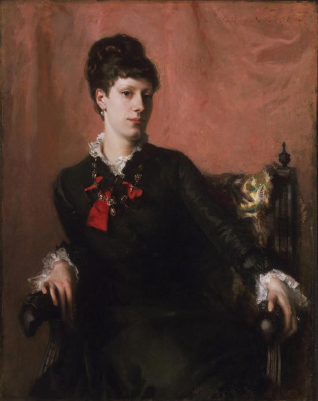 Retrato de Frances Sherborne Ridley Watts