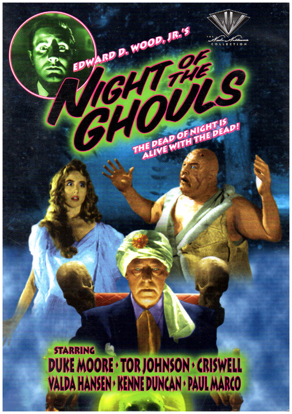 Night of The Ghouls (1958)