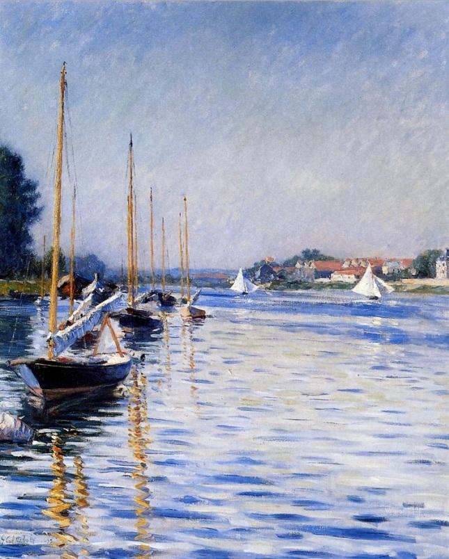 Barcas en el Sena