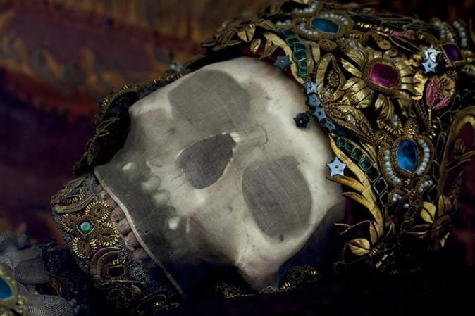 Cráneo de San Getreu en Ursberg (Alemania)