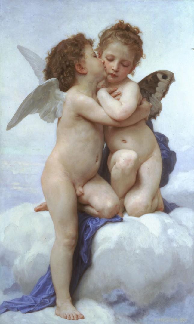 El Amor y Psique, niños