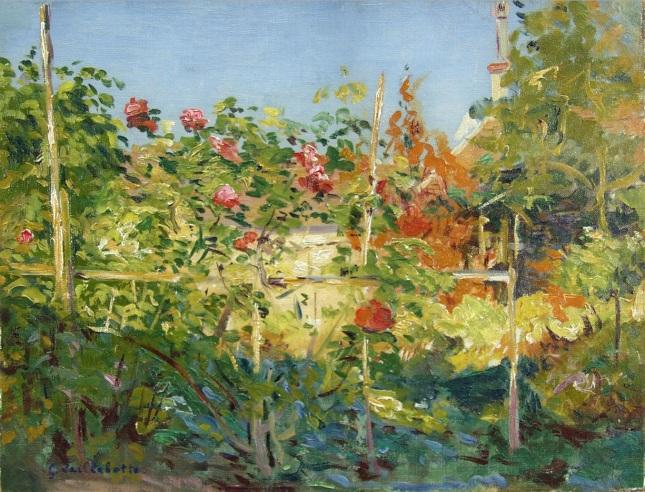 Jardín en Trouville