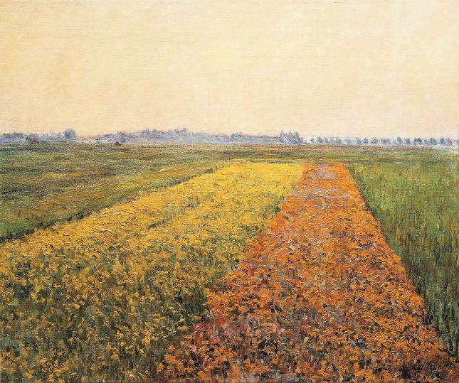 Los campos amarillos de Gennevilliers