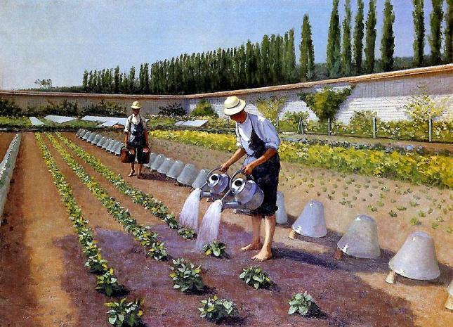 Los jardineros