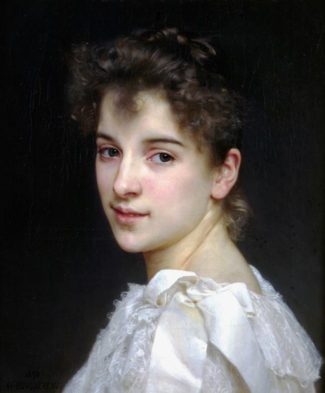 Retrato de Gabrielle Cot