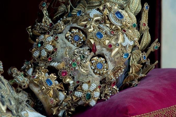San Benedictus en la Iglesia de San Miguel en Múnich (Alemania)