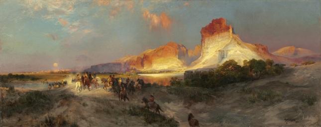 Acantilados de Green River, Wyoming
