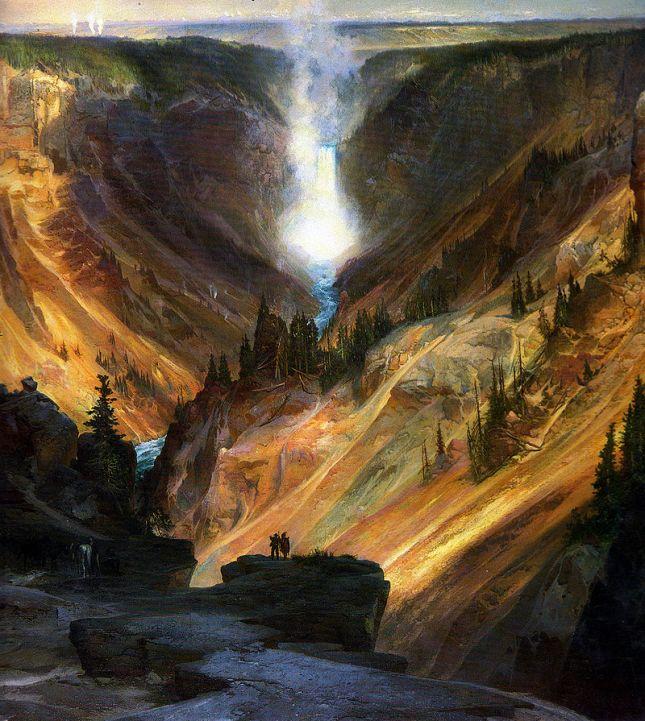 Cañón de Yellowstone