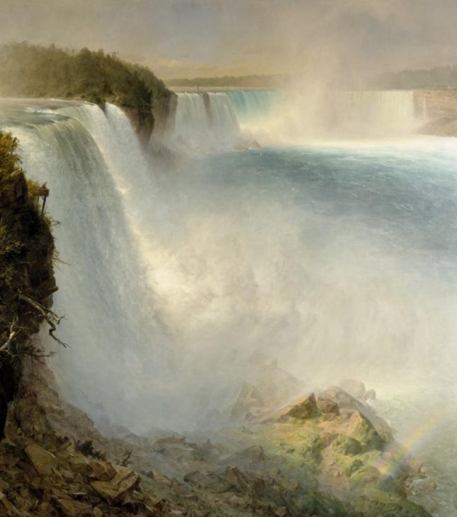 Cataratas del Niágara desde el lado estadounidense