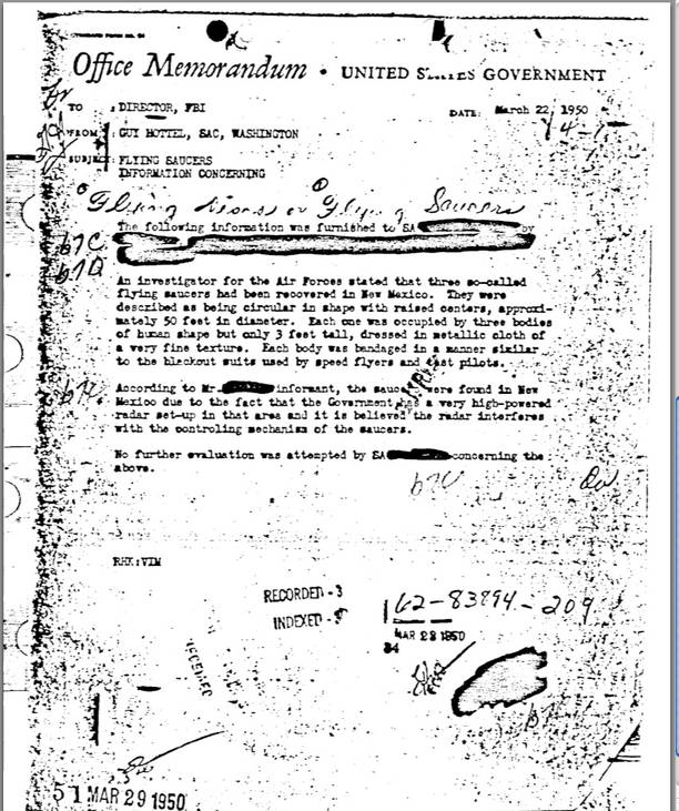Documento FBI 2011