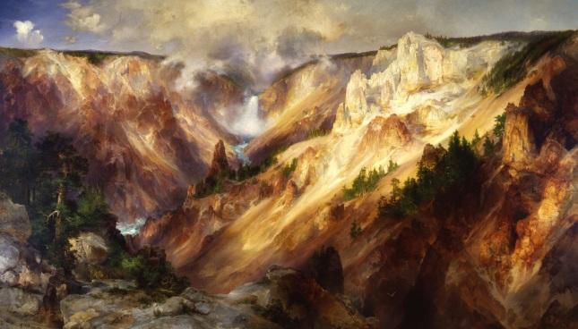 El Gran Cañón de Yellowstone