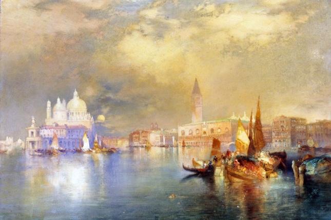 Entrada al Gran Canal de Venecia