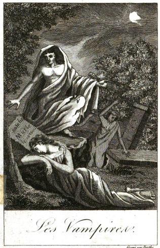 Histoire des vampires et des spectres malfaisans - Avec un examen du vampirisme