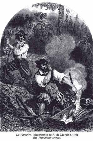 R. de Moraine - Le Vampire