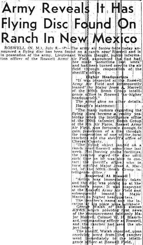 Sacramento Bee, 8 de Julio de 1947