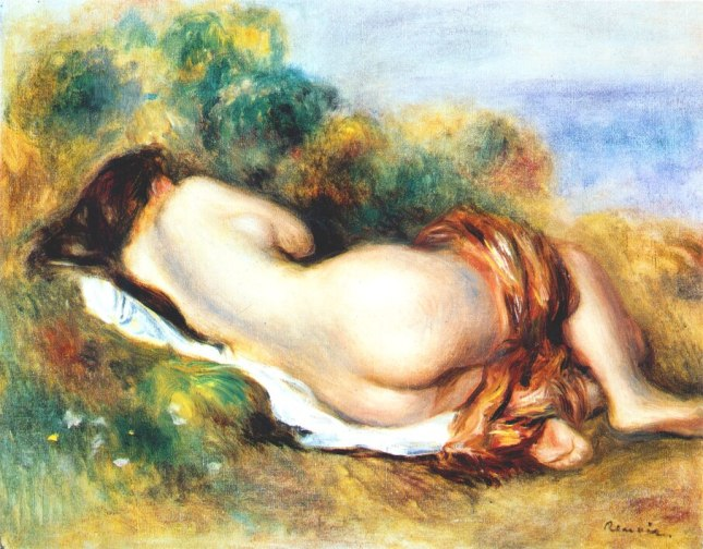 Desnudo recostado