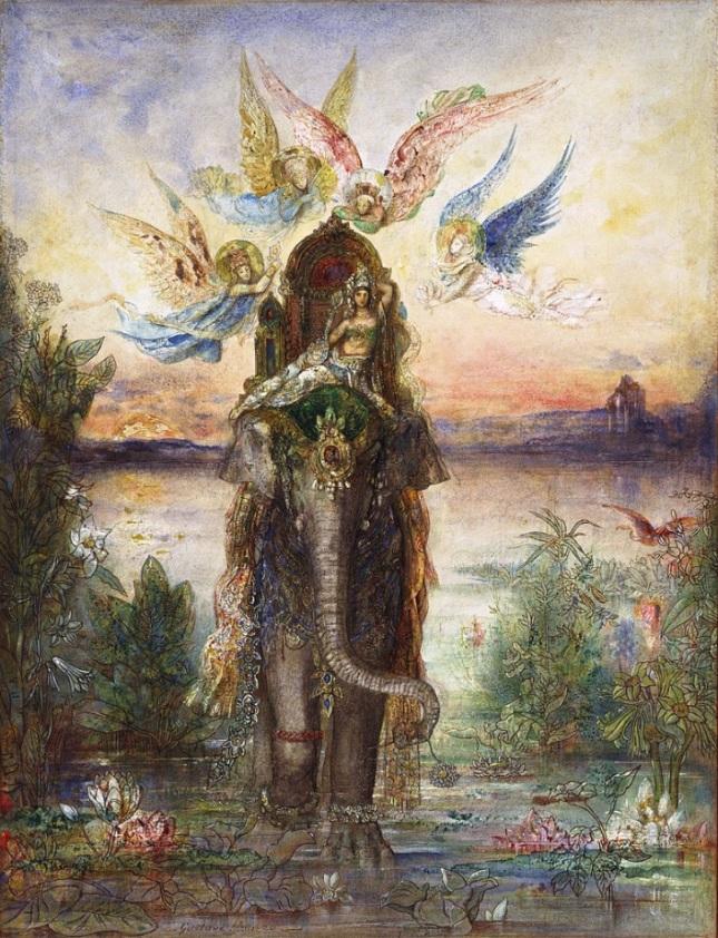 El elefante sagrado