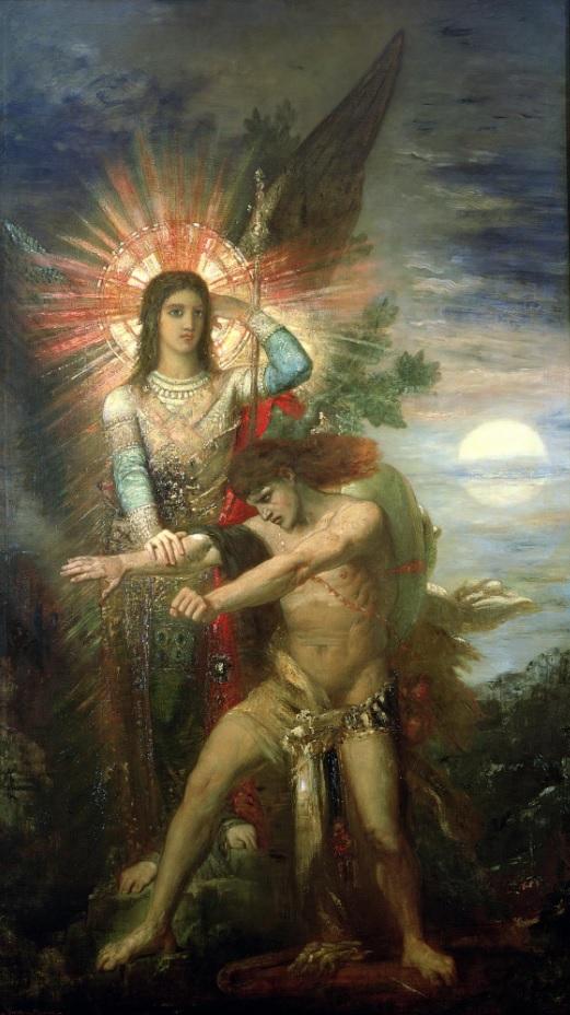 Jacob y el ángel