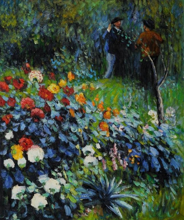 Jardín en la Calle Cortot, Montmartre