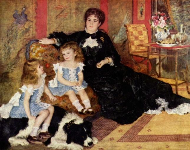 Madame Charpentier y sus hijas