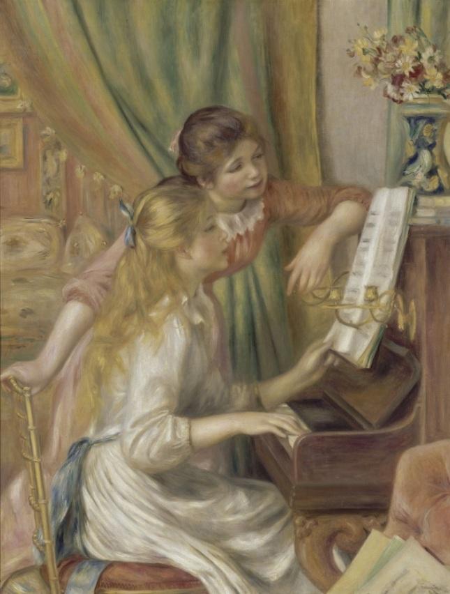 Muchachas al piano