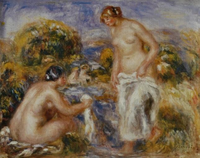 Mujeres bañistas