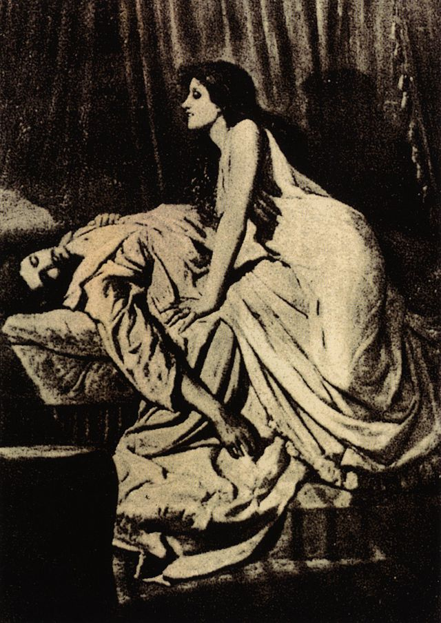 Philip Burne-Jones - El vampiro