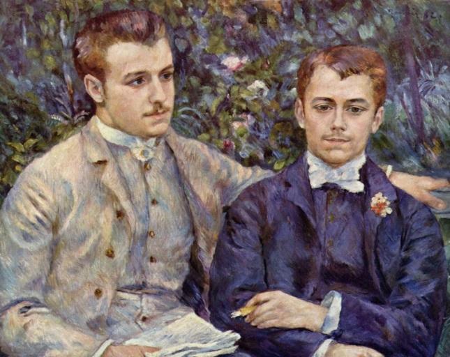 Retrato de Charles y Georges Durand-Ruel