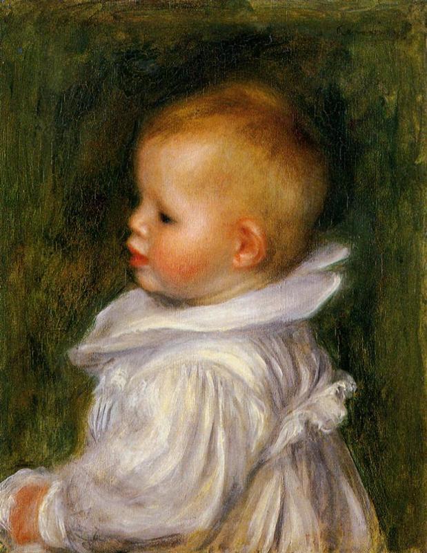 Retrato de Claude Renoir