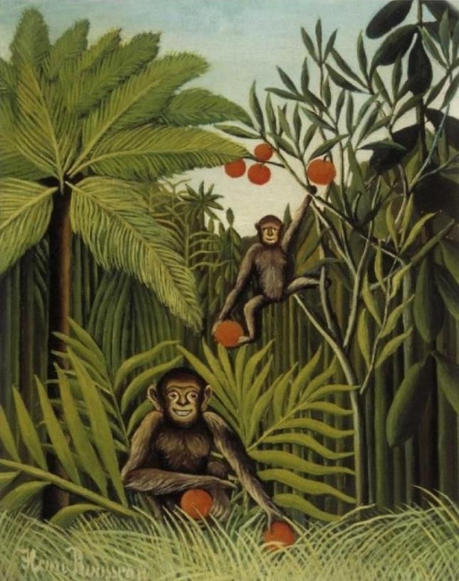 Monos en la jungla