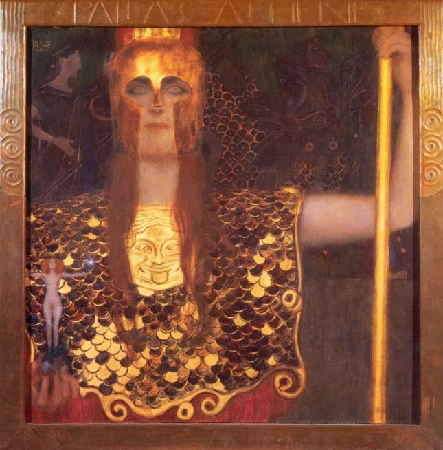 Minerva como Palas Atenea