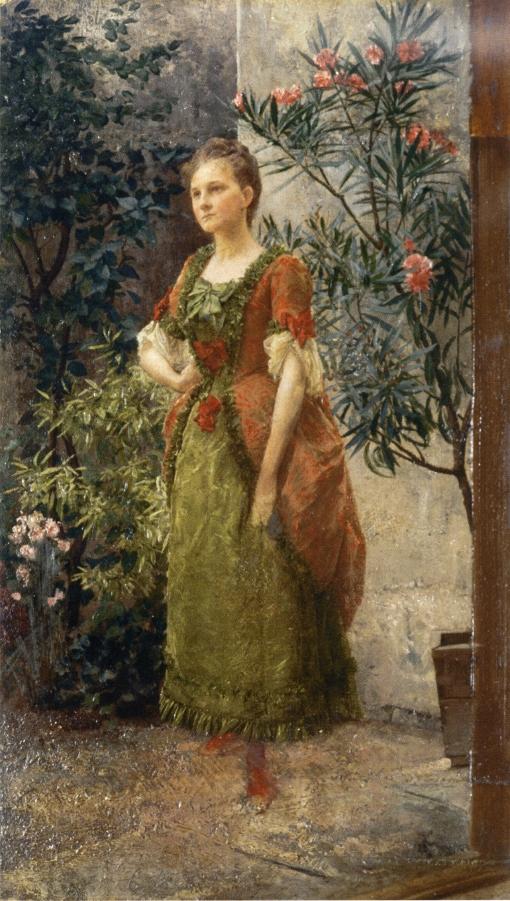 Retrato de Emilie Flöge
