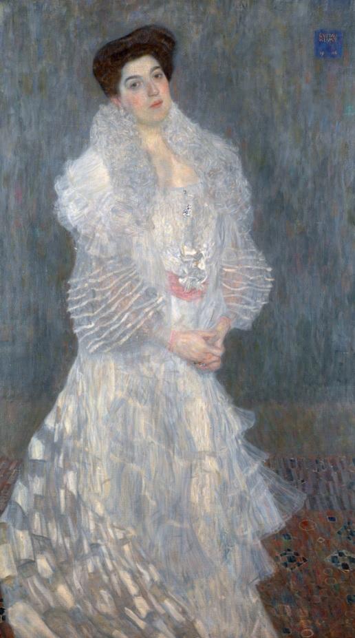 Retrato de Hermine Gallia