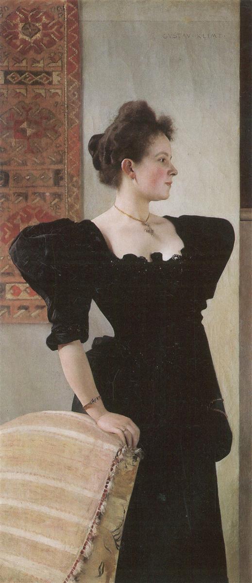 Retrato de Marie Breunig