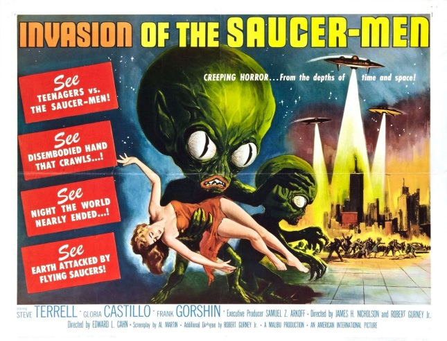 Invasion of The Saucer-Men