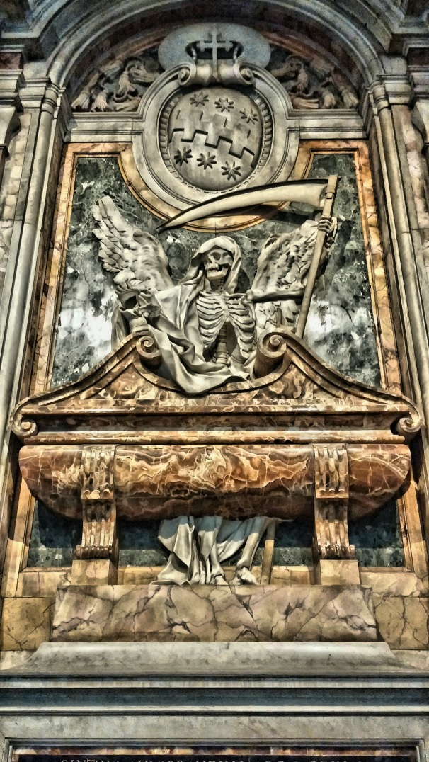 Tumba del cardenal Cinzio Aldobrandini