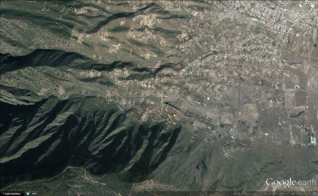 Barranco de Badajoz Google Earth
