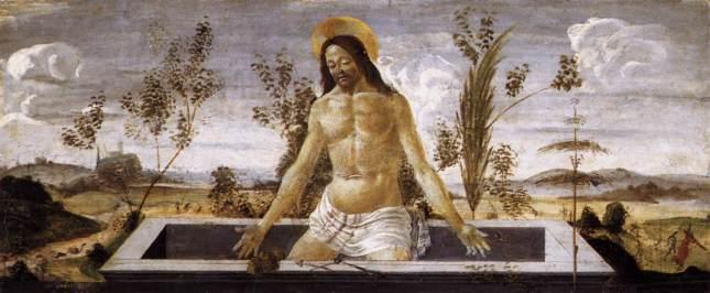 Cristo en el sepulcro