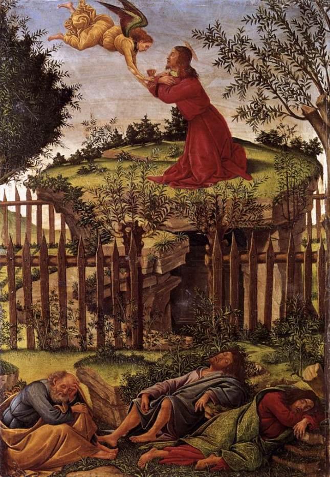 La agonía en el jardín