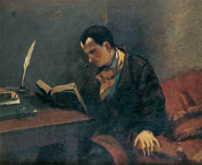 Retrato de Baudelaire