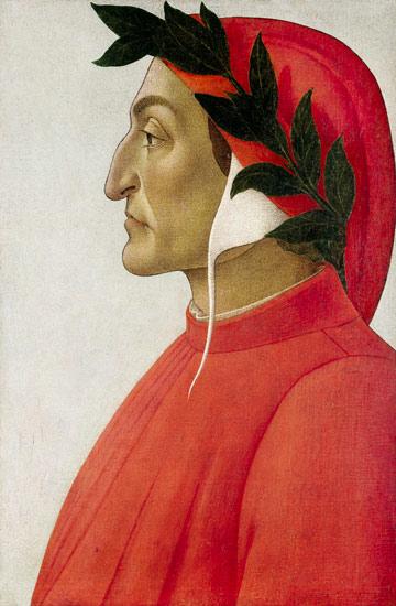 Retrato de Dante