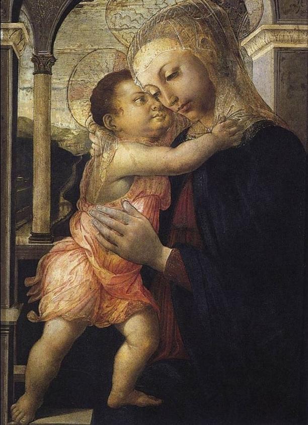 Virgen de la galería