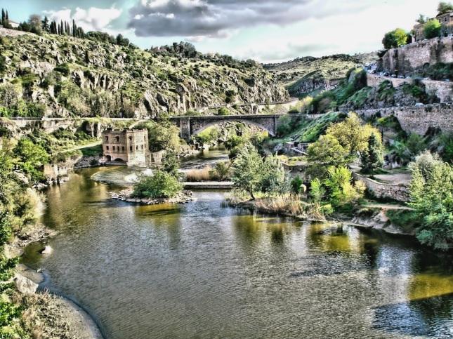 Vista del Tajo Toledo