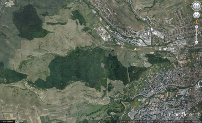 Hoia-Baciu Google Earth