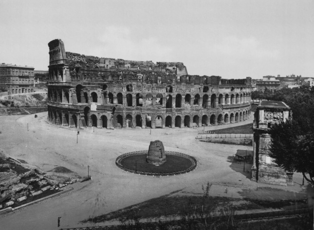 Coliseo de Roma (1890 - 1900)