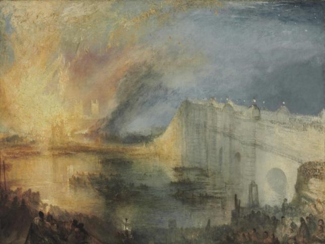 Incendio en las Cámaras de los Lores y los Comunes