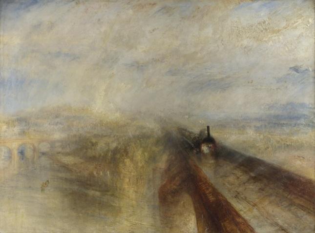 Lluvia, vapor y velocidad, el gran ferrocarril del Oeste